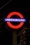 Londyński metro Zdjęcie Stock