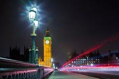 Londyński miasto Westminister Obraz Royalty Free