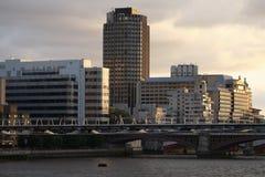 Londyński milenium most Fotografia Stock