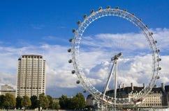 Londyński Oko i otoczenia Zdjęcia Stock