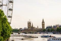 Londyński oko, Londyn, Anglia UK Obraz Royalty Free