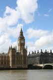 Londyński Parlament i Big Ben Obrazy Royalty Free