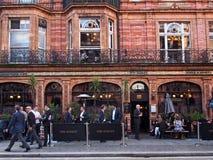 Londyński pub, Mayfair Zdjęcia Royalty Free