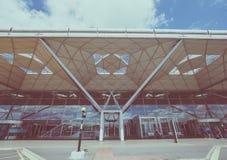 Londyński Stansted lotnisko Obrazy Royalty Free