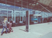 Londyński Stansted lotnisko Zdjęcia Stock