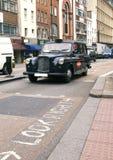 Londyński taxi Obraz Royalty Free