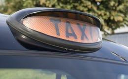 Londyński taxi Zdjęcia Royalty Free