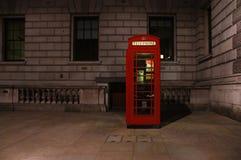 Londyński telefoniczny budka Fotografia Stock
