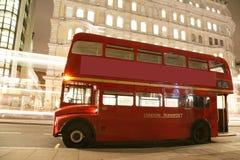 Londyński Trasy Mistrza Autobus Zdjęcia Royalty Free