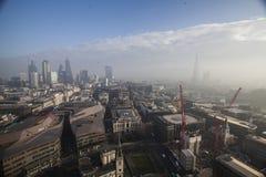 Londyński widok od St Paul katedry Fotografia Royalty Free