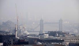 Londyński widok od St Paul katedry Fotografia Stock