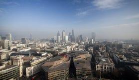Londyński widok od St Paul katedry Obrazy Royalty Free