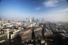 Londyński widok od St Paul katedry Obraz Stock