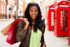 Londyński zakupy Zdjęcie Royalty Free