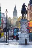 Londyńskie ulicy w jesieni Zdjęcie Stock
