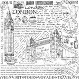 Londyn royalty ilustracja