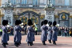 Londyn Anglia, Marzec, - 06, 2017: Zmiana strażnicy w fr Obraz Royalty Free