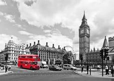 Londyn autobus Obrazy Royalty Free