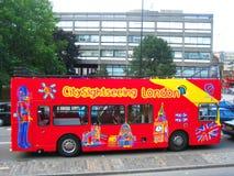 Londyn autobus Zdjęcia Stock