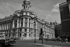 Londyn Czarny I Biały Obrazy Stock