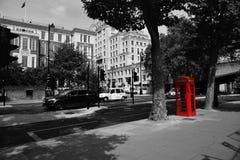 Londyn Czarny I Biały Obrazy Royalty Free