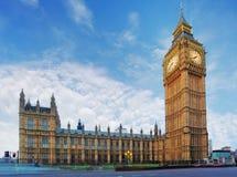 Londyn - dom parlament, Big Ben Fotografia Stock