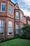 Londyn domy na słonecznym dniu zdjęcie stock