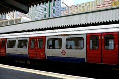 Londyn: Edgware Drogowa stacja metru h Fotografia Royalty Free