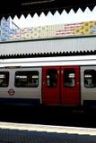 Londyn: Edgware Drogowa stacja metru v Zdjęcie Royalty Free
