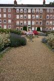Londyn: Gray austerii sala legalni ogródy v Obraz Royalty Free
