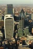 Londyn krajobraz przy zmierzchem Fotografia Royalty Free