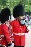 Londyn, lipiec 06, żołnierz królewski strażnik, Lipiec 06 2015 w Londyn Zdjęcie Royalty Free