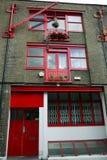 Londyn: magazynowi mieszkania Zdjęcia Stock