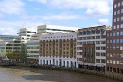 Londyn mosta szpital zdjęcie royalty free