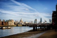 Londyn na Rzecznym Thames Zdjęcia Stock