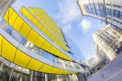 Londyn - nowożytny żółty pałac Obraz Stock