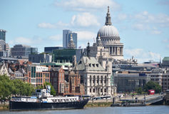 Londyn od Waterloo mosta Zdjęcia Royalty Free