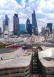 Londyn panoramy widok od St Paul katedry Londyn Zdjęcie Royalty Free