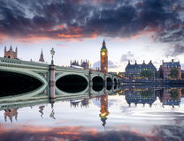 Londyn przy półmrokiem Obrazy Stock
