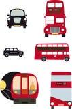Londyn transport royalty ilustracja