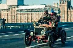 05/11/2017 Londyn, UK, Londyn Brighton weterana samochodów bieg Fotografia Royalty Free