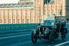 05/11/2017 Londyn, UK, Londyn Brighton weterana samochodów bieg Obrazy Royalty Free