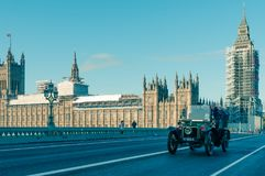 05/11/2017 Londyn, UK, Londyn Brighton weterana samochodów bieg Zdjęcia Royalty Free