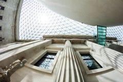 29 07 2015, LONDYN, UK - British Museum widok i szczegóły Obraz Stock