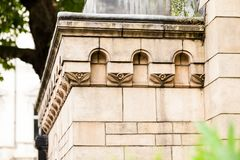 23 07 2015 LONDYN, UK, historii naturalnej muzeum - szczegóły Obrazy Royalty Free