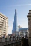 LONDYN, UK - MARZEC 29, 2014 czerepów szkło Obraz Stock