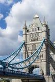 LONDYN, UK - SIERPIEŃ 22: Basztowy most w Londyn na Sierpień 22, 20 Obraz Royalty Free