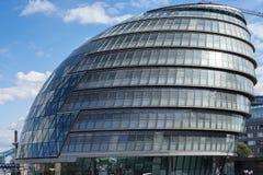 LONDYN, UK - SIERPIEŃ 22: Widok urząd miasta w Londyn na Sierpień 2 zdjęcia royalty free