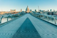 05/11/2017 Londyn, UK, widok st Paul katedra Obraz Stock