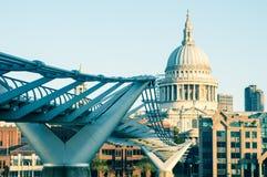 05/11/2017 Londyn, UK, widok st Paul katedra Fotografia Royalty Free